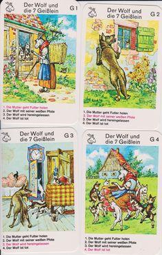 - Wolf, Conte, Illustration, Fairy Tales, Wonderland, Kids, Baby Goats, Fairytail, Short Stories