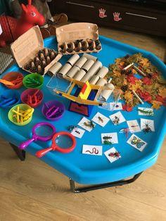Curiosity Approach Eyfs, Maths Eyfs, Big Tray, Tuff Spot, Cloud Dough, Nursery Activities, Tuff Tray, Sensory Boxes, Exploration