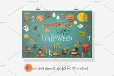 Happy Halloween Bundle by elfivetrov on @creativemarket