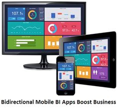 Make your business more intelligent and responsive with the help of this article on  how bidirectional mobile BI apps boost business efficiency.