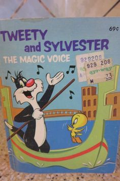 1976 Big Little Book TWEETY and SYLVESTER The Magic Voice Whitman  #5777
