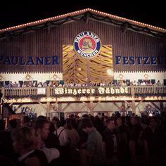 Beer Tent Oktoberfest  Munich, Germany