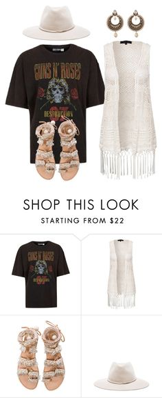 """Untitled #965"" by amanda-lanerva ❤ liked on Polyvore featuring New Look, Elina Linardaki, rag & bone and Givenchy"
