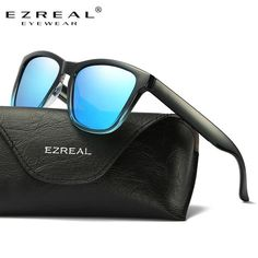 94772649833 EZREAL New Year Fashion Polarized Sunglasses Men Women Colorful Coating Lens  Eyewear Accessories P0717
