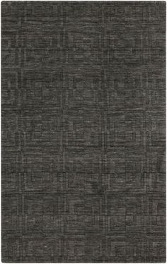 Surya Etching ETC-2 Black Olive Rug | Contemporary Rugs