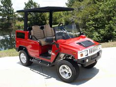 CUSTOM GOLF CARTS FOR THE RICH