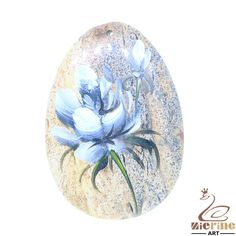 Fashion Pendant Carved Hand Painted Flower Natural Picture JasperZL803414 #ZL #Pendant