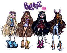 #Hayden Williams Fashion Illustrations: #Bratz by Hayden Williams