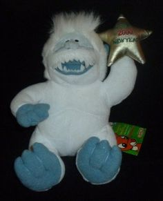 Abominable Snowman 10 inch Beanie Plush - Rudolph Island of Misfit Toys