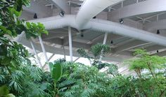 Fabric ducts with nozzles provide comfort conditions for holiday-makers - KE Fibertec