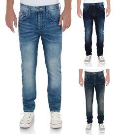 £19.95 Lee Cooper Fashion Jeans Men's New Vintage Faded Denim Pants