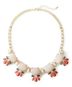 Pink Smooth Necklace