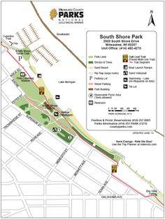 map #SouthShorePark - Bayview