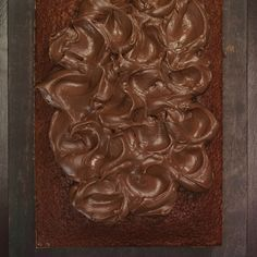 Decadent indeed, this frosting is a chocolate lover's dream come true. Creme fraiche offsets some of the richness. Use it to frost vanilla cake (or chocolate if you're a chocoholic).Also try: Basic Buttercream, Ganache, and Seven-Minute Frosting