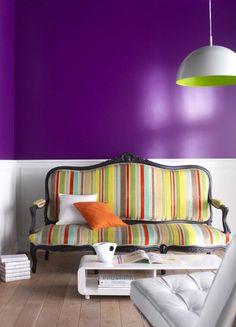 peindre son interieur est un vrai jeu d enfants avec la peinture colours collection purple