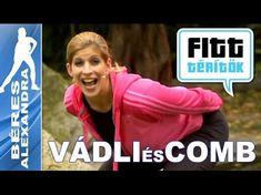 Béres Alexandra - Mell és comb edzése (Fitt-térítők sorozat) - YouTube Wellness Fitness, Health Fitness, Zumba, Nalu, Pilates, Fitt, Yoga, Gym, Youtube