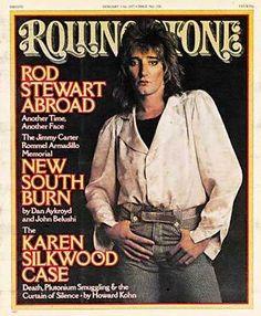 Rod Stewart on Rolling Stone