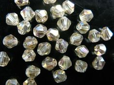 200Pcs-4mm-Faceted-Glass-Crystal-Loose-Bead-Spacer-Bicone-Finding-58Color-U-Pick