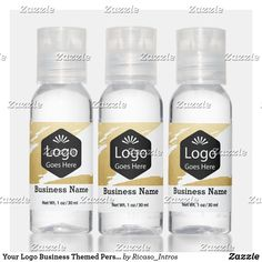 Your Logo Business Themed Personalized Hand Saniti Hand Sanitizer Business Products, Travel Size Products, Scented Hand Sanitizer, Travel Size Bottles, Hand Hygiene, Active Ingredient, 1 Oz, Wedding Reception, Alcohol