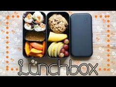 Essen zum Mitnehmen - Snacks für Schule / Uni / Arbeit - Gesundes Mittagessen - Bento Box - YouTube