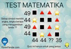 """Quiz Matematika Deret Angka Mari kita selesaikan quiz matematika Deret Angka Dan Simbol.  Dalam kotak ini, terdapat: kotak, segitiga dan bintang yang telah disusun seperti gambar ini. Angka berapa yang menggantikan tanda ??       function callBackForSmaato(status){   if(status == """"SUCCESS""""){    console.log(""""callBack is being called with status : """" +"""