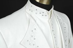 Free Ship Mens Black/white Rhinestone Tuxedo Jacket,vest And Pants Suits Set Costume Stage Performance/wedding Suit Online with $113.09on Greatwallnb's Store | DHgate.com