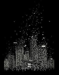 city of lights breaking apart