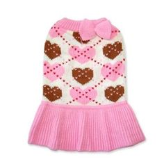 Preppy Heart Sweater Dress