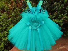 Tutu Dress TINY DREAMY GREEN Bit of Fluff Baby 012 by ElsaSieron, $60.00