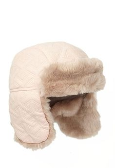 Quilted Faux Fur-Lined Trapper Hat (Kids) | Forever 21 girls - 2000099521