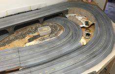 Baubericht – FREAKPALACE Slot Car Racing, Slot Cars, Race Cars, Courses, Home Appliances, Layout, Circuit, Track, Dreams