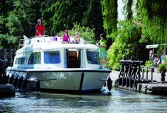 Hausboot mieten Frankreich