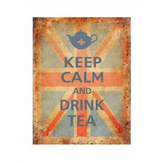 """""""Keep Calm and Carry On"""" poster, originally issued by the British Government in 1939 at the opening of WWII in order to boost the public morale. Mary Poppins, Agatha Christie, British Quotes, Keep Calm Posters, British Things, Flag Background, Keep Calm And Drink, Union Jack, Vintage Tea"""