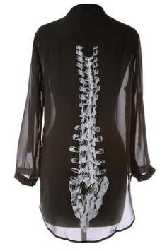 black chiffon spine robe                                                                                                                                                                                 More