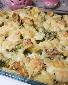 Gratin brocolis pommes de terre et poulet - Tabou En Cuisine Following A Recipe, Great Recipes, Healthy Recipes, Cooking Time, Pasta Salad, Kids Meals, Potato Salad, Macaroni And Cheese, Food And Drink