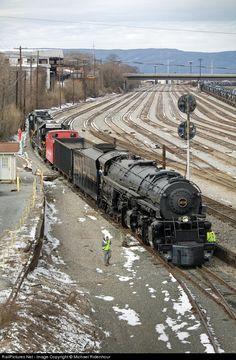 RailPictures.Net Photo: N&W 1218 Norfolk & Western Steam 2-6-6-4 at Roanoke, Virginia by Michael Ridenhour
