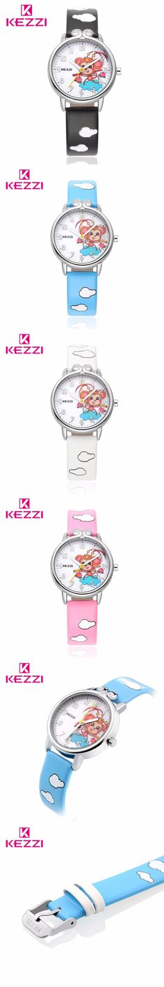 Fashion Brand New Watches Men Boys Cute Cartoon Monkey King Pattern Casual Quartz Wristwatches Wristwatch Kids Watch $16.05
