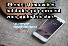 11 mauvaises habitudes pour les possesseurs de iPhone Application Telephone, Iphone 11, Apple Iphone, Coaching, Portable Printer, Gifts For Photographers, Flash Photography, Camera Nikon, Software Development