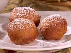 Beignets with Raspberry Sauce Recipe : Sandra Lee : Food Network - FoodNetwork.com