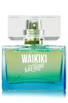 Waikiki Beach Coconut - Mini Perfume - Signature Collection - Bath & Body Works - With a higher concentration of fragrance oils, our Mini Perfume gives you a more intense, longer-lasting way to wear your favorite fragrance.