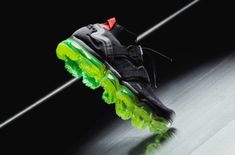 Now Available: Nike Air VaporMax Utility Black Neon        The Nike Air VaporMax Utility quietly released in a brand new Black/Neon colorway, and it's a perfect pair to rock throughout summer. The Fl... http://drwong.live/sneakers/nike-air-vapormax-utility-black-neon-now-available/ Black Neon, Nike Air Vapormax, Men's Outfits, Casual Outfits, Nike Basketball Shoes, Sneakers Nike, Nike Shoes, Personal Trainer, Nike Free