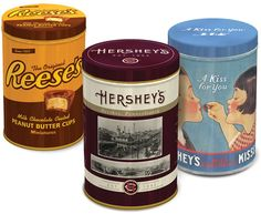 Hershey's adds a new dimension to its gifting line with Nostalgic Tin