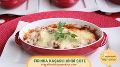 Fırında Kaşarlı Hindi Güveç Tarifi /  Hayalimdeki Yemekler