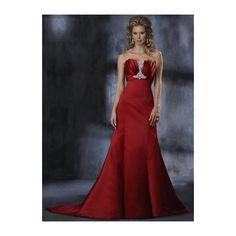 Satin Strapless Empire A line Skirt with Chapel Train New Bridal Wine Red Wedding Dress WM-0264