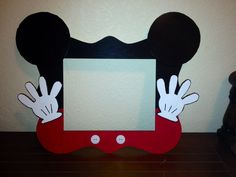 Mickey Mouse Photo Frame                                                                                                                                                                                 Más