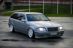 Mercedes Benz W202 Wagon on Carlsson 3/6 01