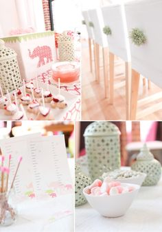 Gorgeous elephant 3 ring circus themed baby shower via Kara's Party Ideas @HUGGIES Baby Shower Planner Baby Shower Planner