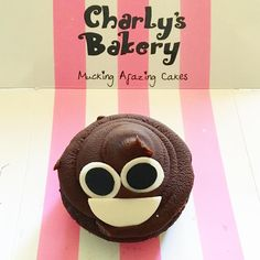 A cheeky Charly's chocolate cupcake. Chocolate Cupcakes, Bakery, Wine, Dining, Sweet, Desserts, Instagram Posts, Food, Meal