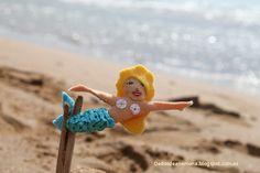 DedosdeAnémona, sirena, fieltro, broche, felt, brooch, mermaid