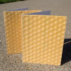 Bubble wrap cards. More awesome than the actual gift :P